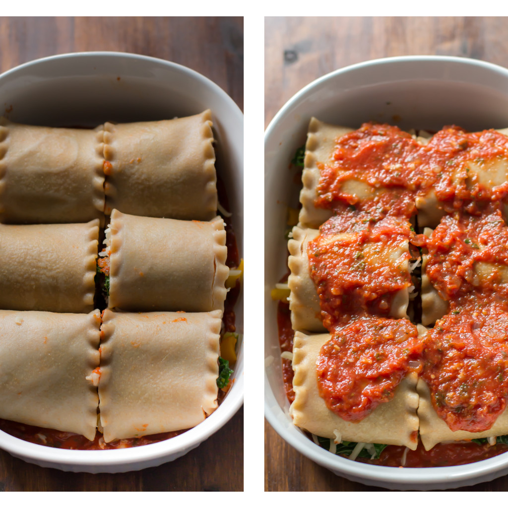 vegetable lasagna roll-ups Primavera Kitchen Recipe