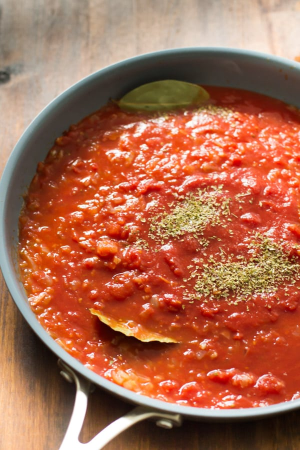 How to make Basic Tomato Sauce Recipe Primavera Kitchen