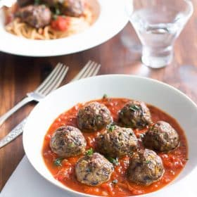 vegetables meatballs