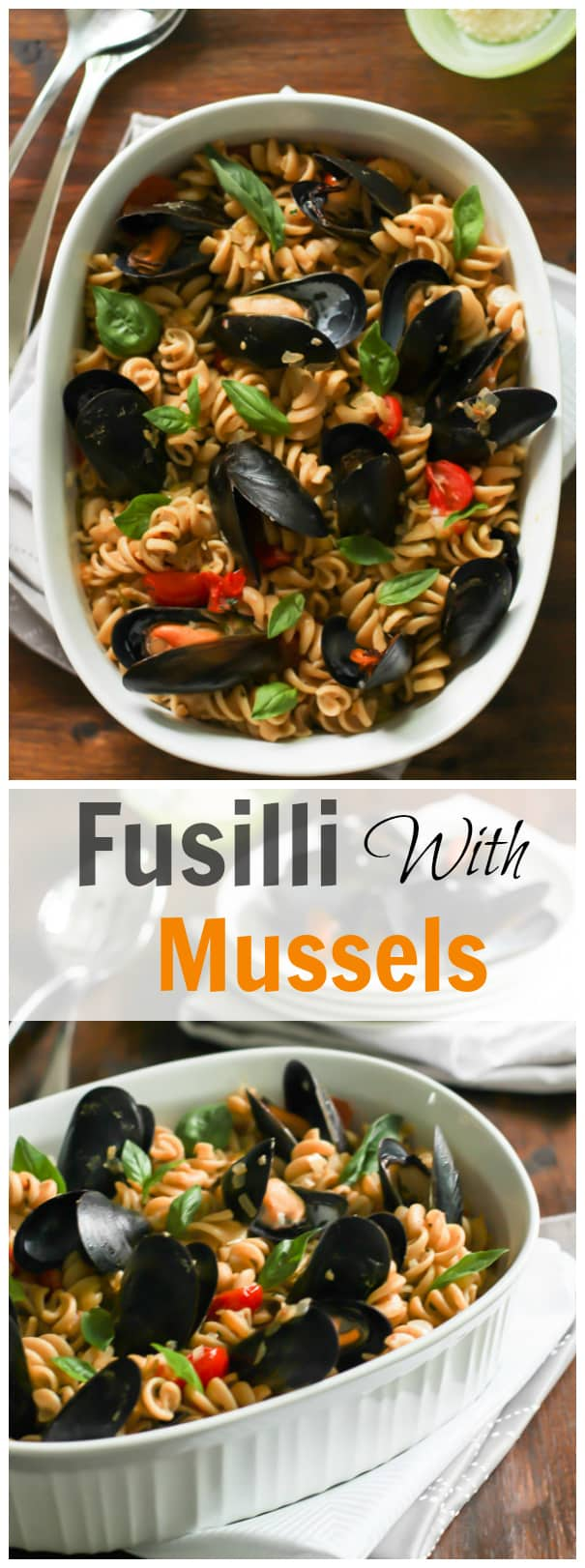 Fusilli with Mussels