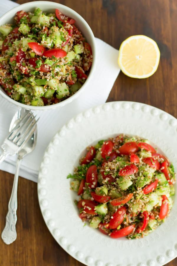 Tabbouleh Primavera Kitchen Recipe