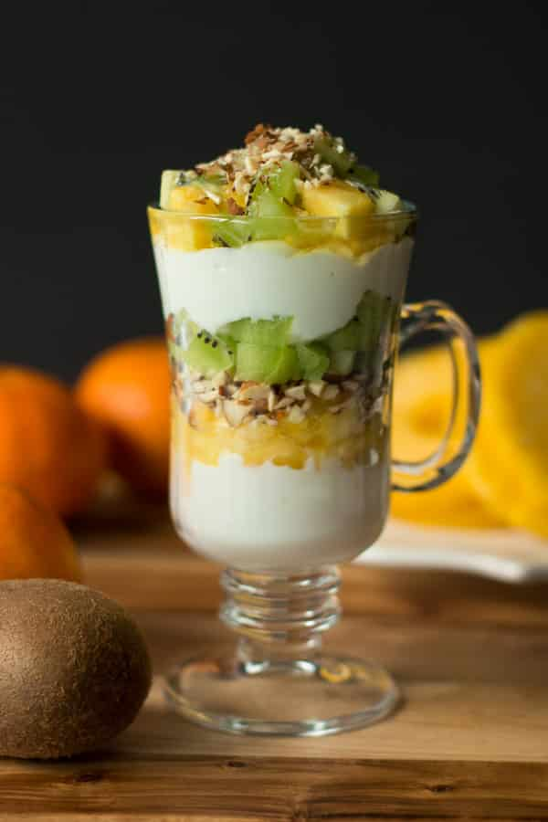 kiwi and pineapple parfait primavera kitchen recipe