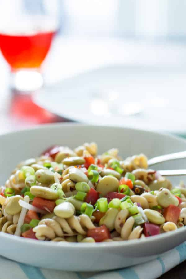 pasta salad with lima beans and anchovies Primavera Kitchen Recipe