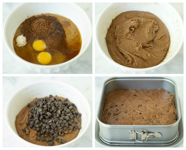 flourless chocolate chip brownies ingredients