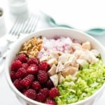Chopped Salad with Tayberries-2