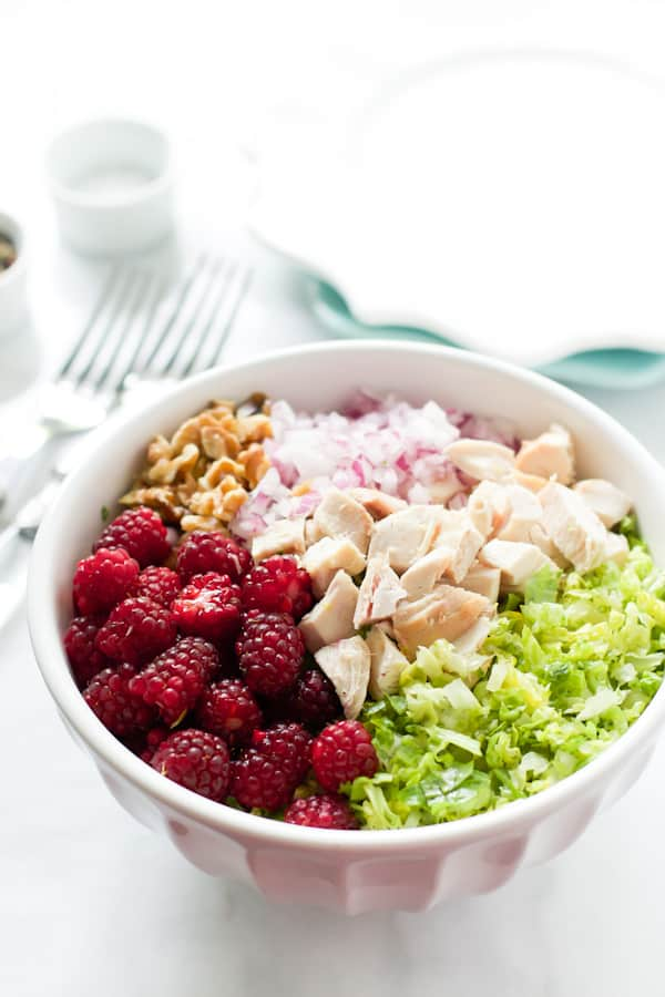 Chopped Salad with Tayberries Primavera Kitchen Recipe