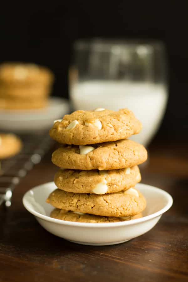 Peanut Butter Chocolate White Chip Cookies Primavera Kitchen Recipe