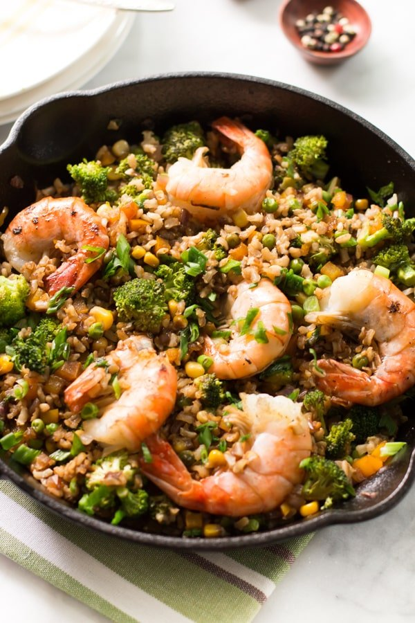 Shrimp, Broccoli And Scallion Fried Rice Recipes — Dishmaps