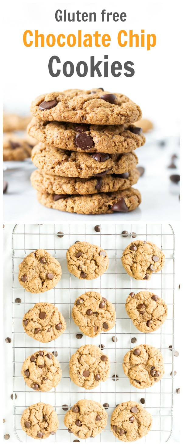 These Gluten-free Chocolate Chip Cookies are fantastic without any ...