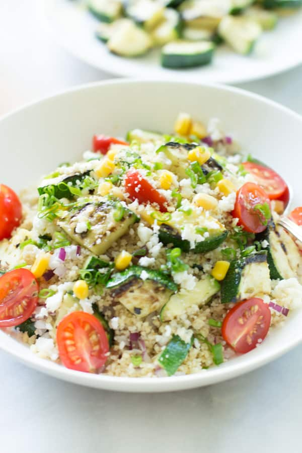 Couscous Salad with zucchini-7