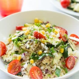 Couscous Salad with zucchini