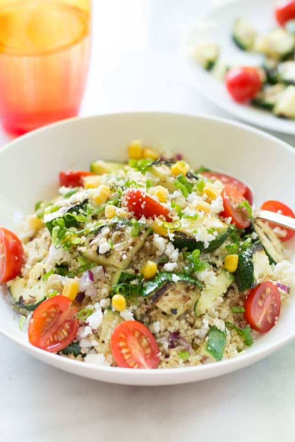 Couscous Salad with zucchini 50 Healthy Salad Recipes Primavera Kitchen