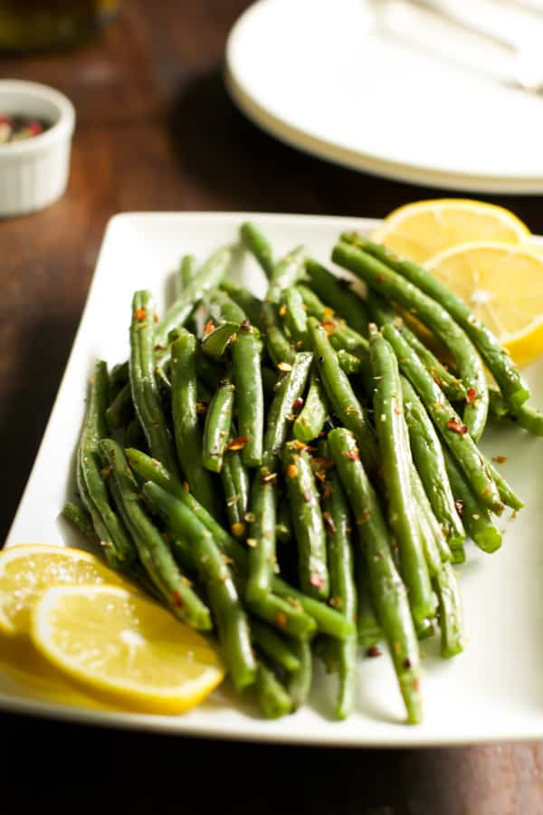 How to make crispy baked green beans