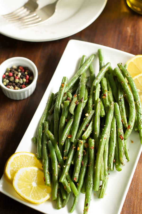 how to make crispy roasted green beans primavera kitchen recipe