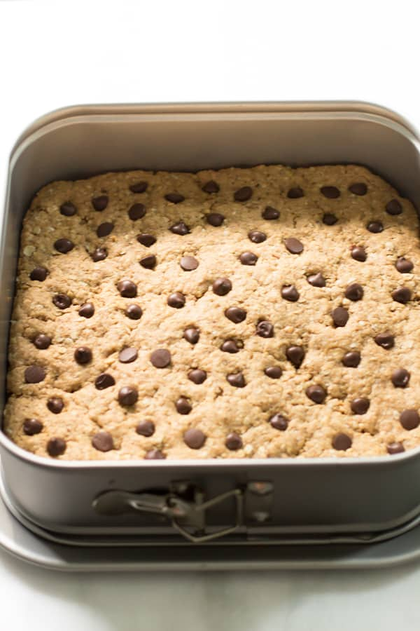 Oatmeal Whole Wheat Peanut Butter Bars With Chocolate Chips Recipes ...