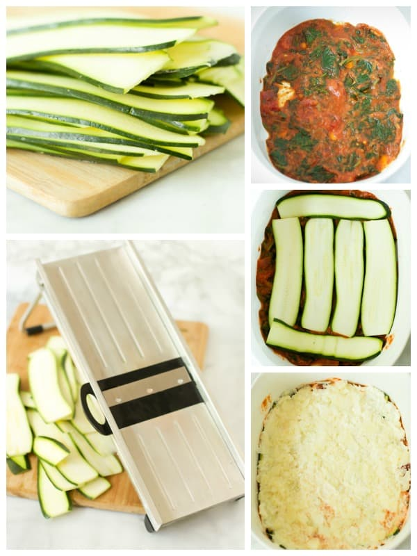 Spinach and Zucchini Lasagna