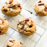 Cashew Butter Cookies with Cramberry and Chocolate Chip