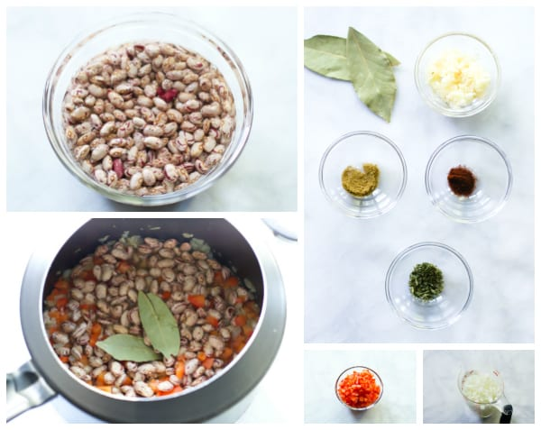 How to make beans in a pressure cooker