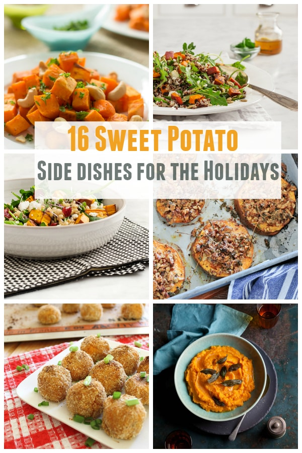 16 sweet potato side dishes for the holidays