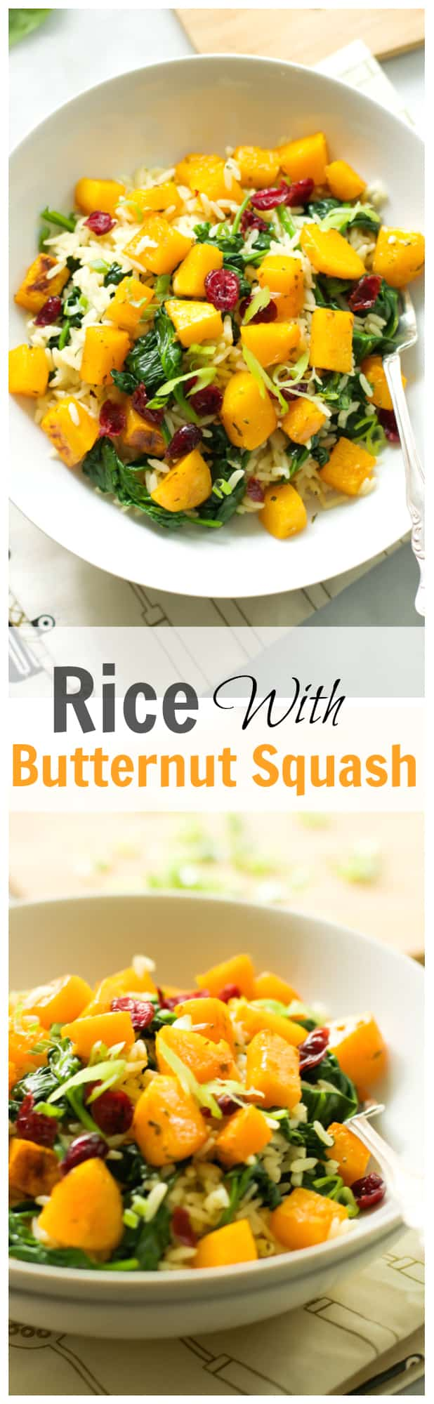 Rice with Butternut Squash
