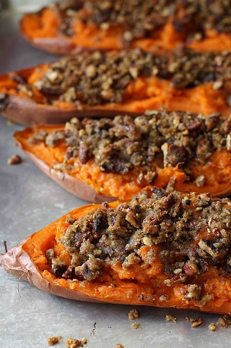 twice baked sweet potato yam recipe