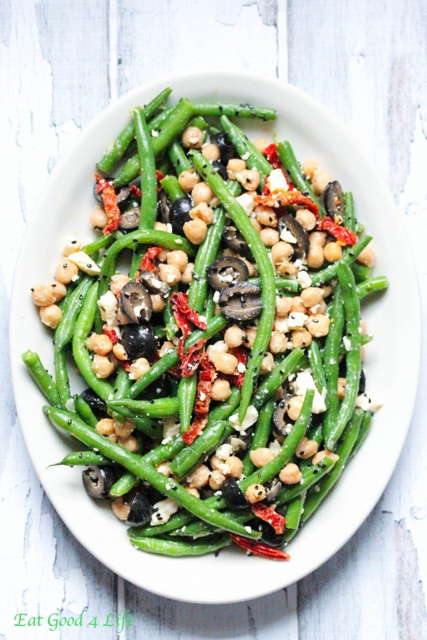 green bean tomato salad 50 Healthy Salad Recipes Primavera Kitchen