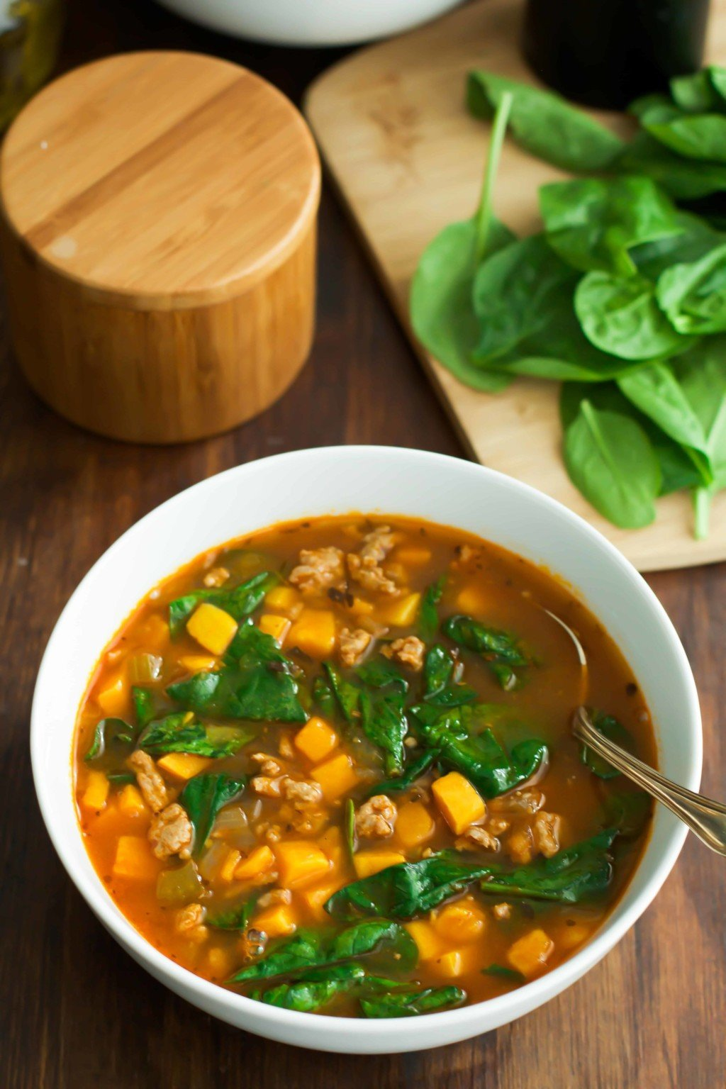 Spinach Sweet Potato Soup-3