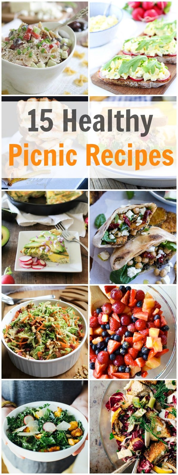 15 Healthy Picnic Recipes