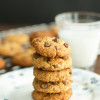 Almond Flour Chocolate Chip Cookies-3
