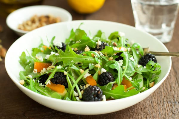 Arugula Blackberry Salad-5