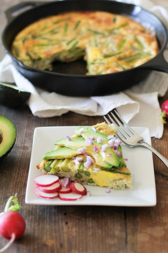 bacon and asparagus frittata healthy summer recipe