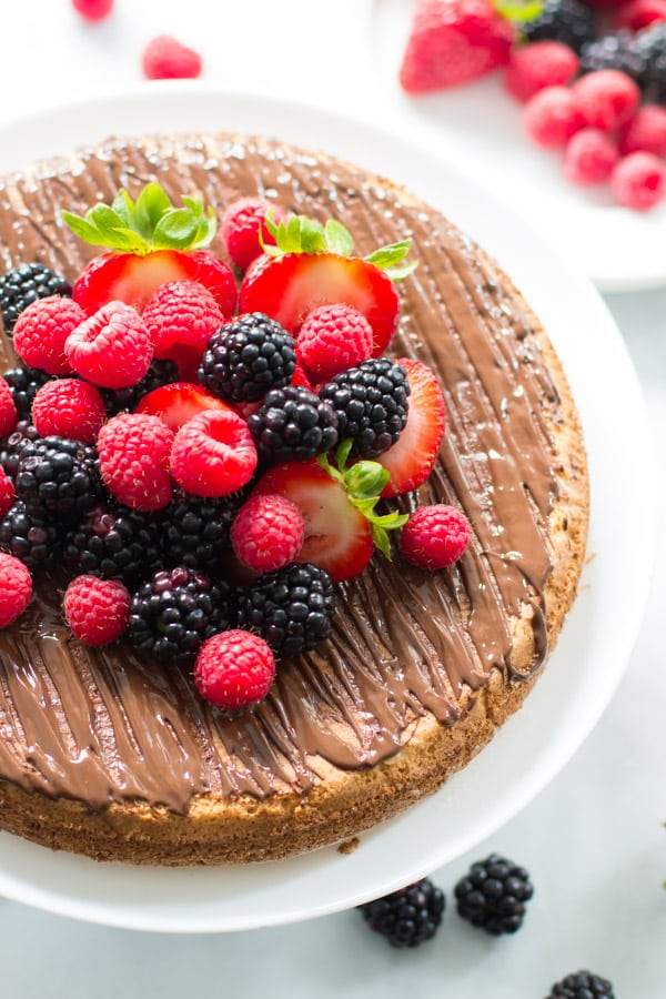 Almond Cake with Fresh Berries_-12