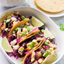 Easy Grilled Fish Tacos-11