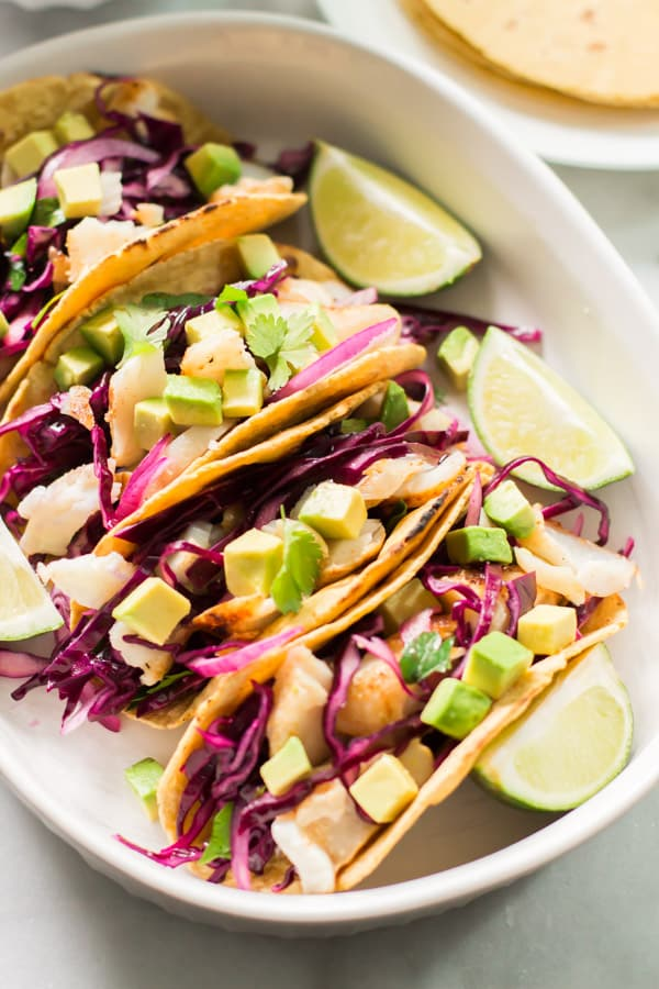 Easy Grilled Fish Tacos-13