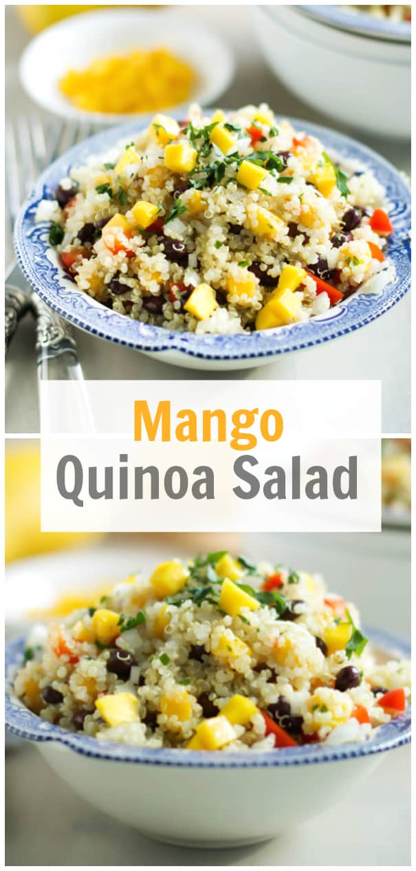 Mango Quinoa Salad Recipe - Primavera Kitchen