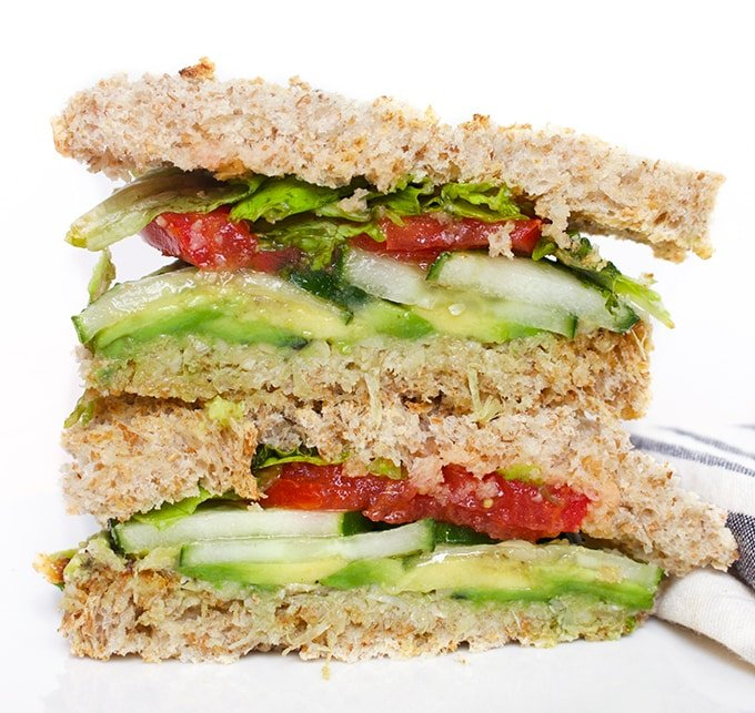 The Ultimate Vegan Sandwich