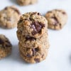Chocolate Chunk Hazelnut Cookies-4