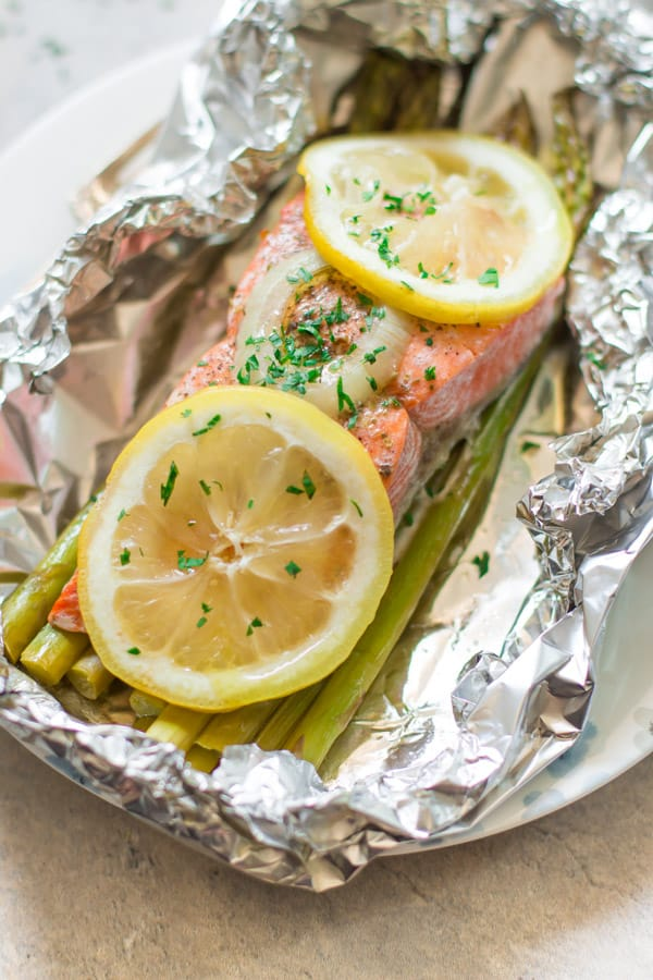 Foil Baked Salmon Recipe-7