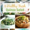 9 Healthy Fresh Quinoa Salad