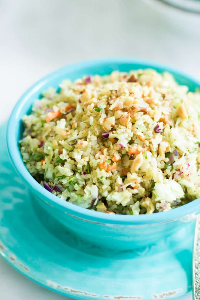 Quinoa Cabbage Salad - Primavera Kitchen