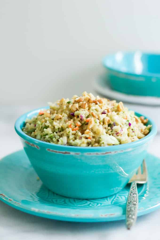 Quinoa Cabbage Salad 50 Healthy Salad Recipes Primavera Kitchen