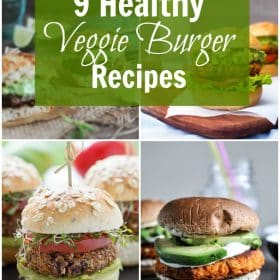 9 Healthy Veggie Burger Recipes