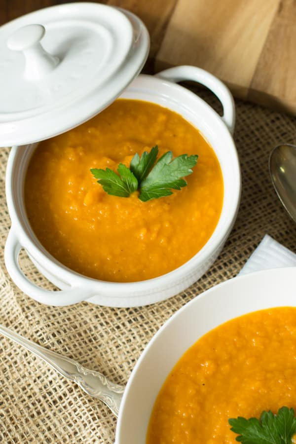 Spicy carrot soup Primavera Kitchen REcipe