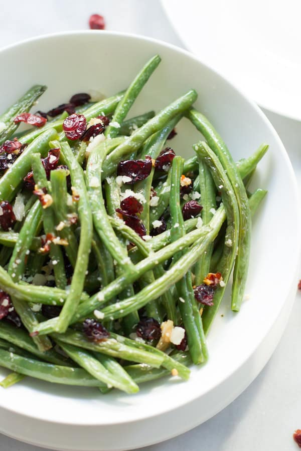 Roasted Parmesan Green Beans - Primavera Kitchen