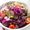 Easy Quick Red Cabbage Salad-4