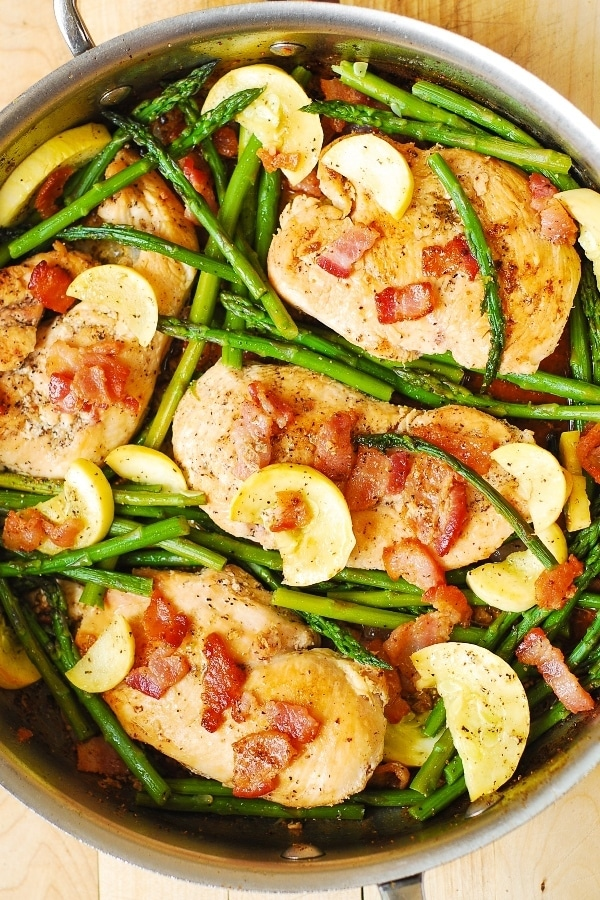 Chicken and Asparagus Skillet Supper from Julia's Album.
