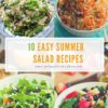 10 easy summer salad recipes
