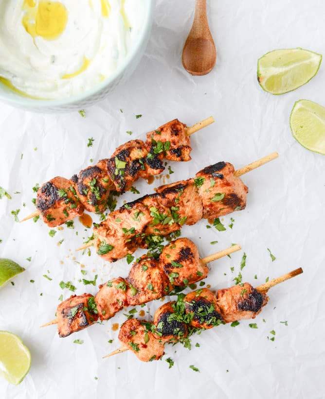 15 Healthy Grilled Kabob Recipes - Primavera Kitchen