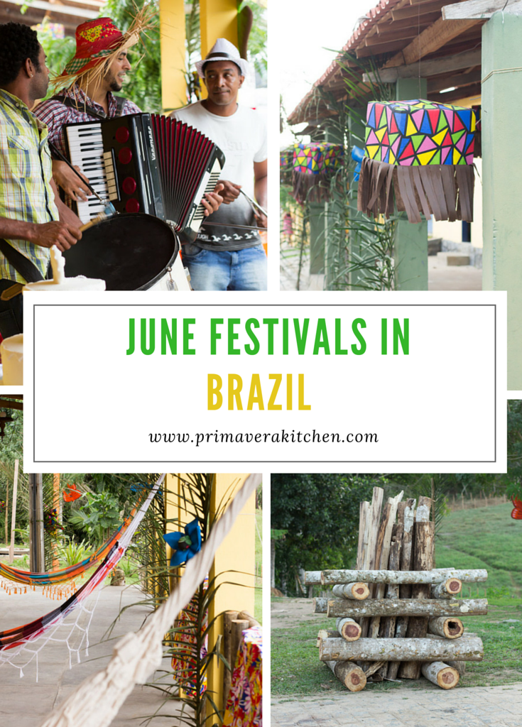 June Festivals in Brazil - A traditional party to celebrate the harvest time and St. John's Birthday. Let's get to know more about Brazil's unique culture, dance and food!