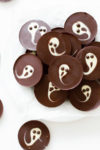 2-Ingredient Ghost Chocolate Cups